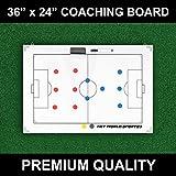 Net World Sports Magnetische Fußball- Taktiktafel, 90 x 60 cm