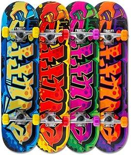 Santa Cruz Complete Skateboard en mousse /à main Teal//jaune 8,0