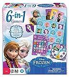 Disney Official Frozen 6-in-1 Classic Games Gefrorene 6-in-1-Spiele-Klassiker