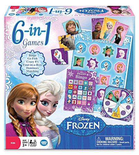Wonderforge WFI01036 - Juego de tablero Frozen , para 1 o más jugadores  (versión en inglés)