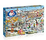 I Love Winter Jigsaw Puzzle (1000-Piece)