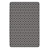 Bathroom Bath Rug Kitchen Floor Mat Carpet,Geometric,Monochrome Star Oriental Middle Eastern Pattern...