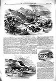SIERRA 1849 MADRE MONTEREY SALTILLO PANAMA AMÉRIQUE