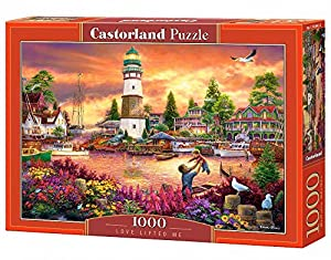 CASTORLAND Love Lifted me 1000 pcs Puzzle - Rompecabezas (Puzzle Rompecabezas, Paisaje, Niños y Adultos, Niño/niña, 9 año(s), Interior)