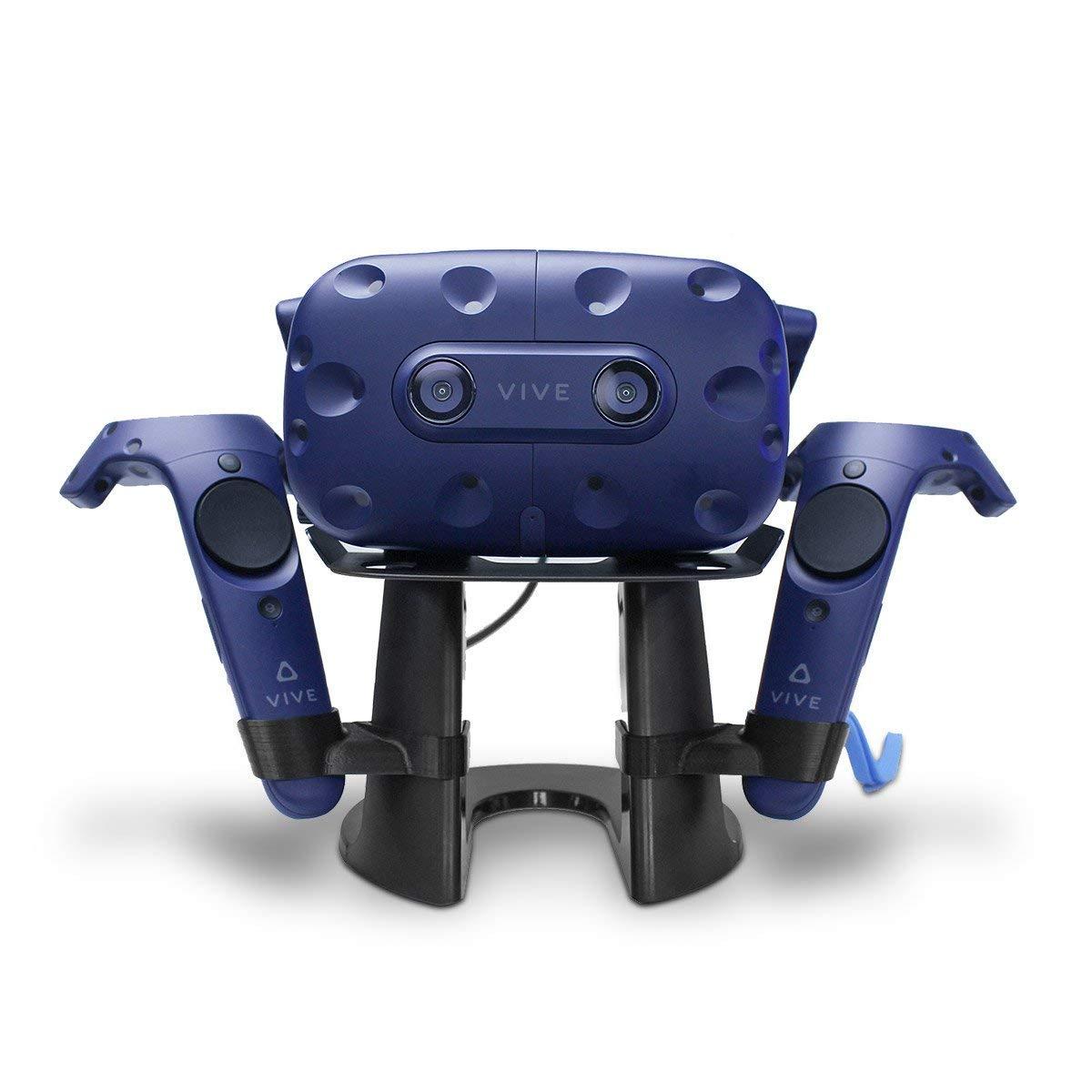 Support de contrôleur VR et présentoir, support de stockage de réalité virtuelle Support de casque pour casque HTC Vive et casque HTC Vive Pro VR
