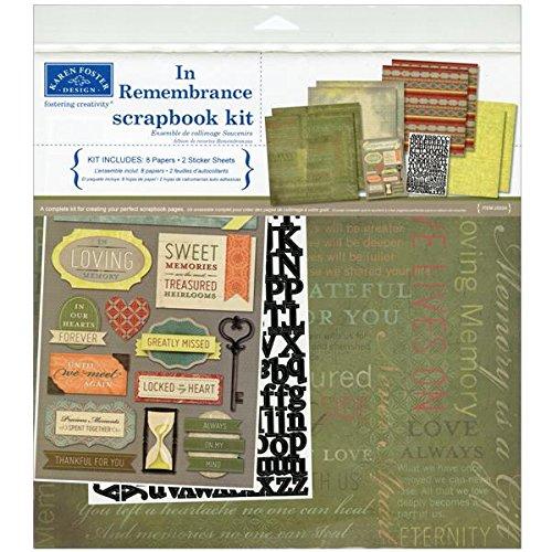 karen-foster-verschiedenen-scrapbook-page-kit-12-zoll-x-12-inch-in-remembrance