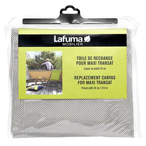 Lafuma Toile Batyline pour chaise longue Maxi Transat, Largeur: 58 cm, Couleur: Seigle, LFM2655-1685