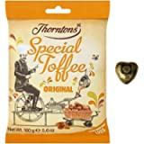 Thorntons Special Toffee Collection (Special Toffee, 160g), Includes an Obika milk chocolate, Great Gift for Father's…