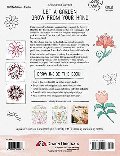 Florabunda Style: Super Simple Art Doodles to Color, Craft & Draw