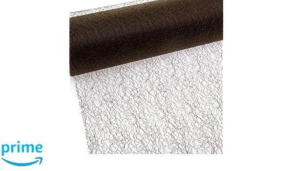 67 007-R 300 Rolle 25m Spiderweb Tischband 30cm hellgr/ün Mesch Tischl/äufer