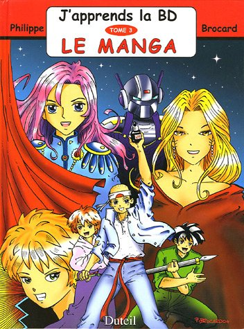 J'apprends la BD, Tome 3 : Le manga