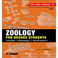 Zoology For Degree Students: B.Sc. (Hons.) Semester-Iii: (As Per Cbcs)