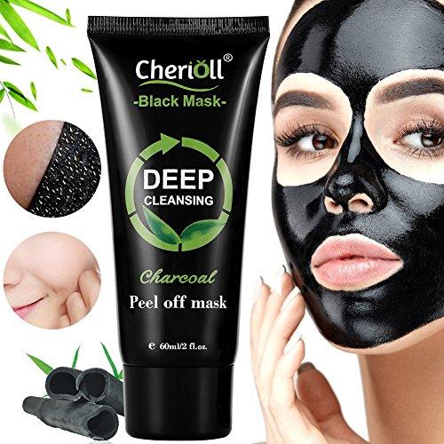 Black Mask,Mitesser Maske,Peel off Maske,Bambuskohle Peel off Maske,Tiefenreinigung Mitesser Entferner Anti Akne Öl-Kontrolle Purifying Aktivkohle Remover Deep Cleaning Facial Maske