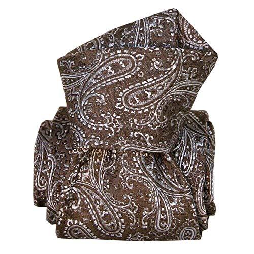 Segni et Disegni - Cravate Classique Segni Disegni, Denver Marron