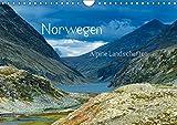 Norwegen - Alpine Landschaften (Wandkalender 2019 DIN A4 quer): Eine Reise durch die alpinen Landschaften Norwegens (Monatskalender, 14 Seiten ) (CALVENDO Natur) - Christian von Styp