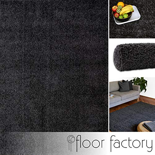 Floor factory Alfombra Moderna Colors Gris Antracita