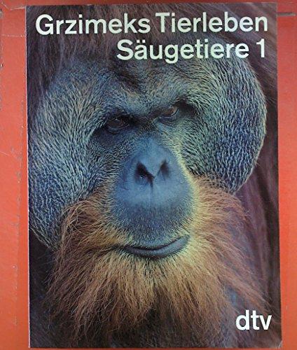 Grzimeks Tierleben 10. Säugetiere 1: Raubbeutler - Kletterbeutler - Insektenesser...