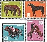 Prophila Collection DDR 1302-1305 (kompl.Ausg.) 1967 Vollblutmeeting der sozialistischen (Briefmarken für Sammler) Pferde