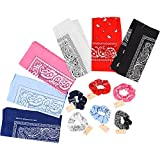 Paisley Print Bandanas 6 Ct and Paisley ...