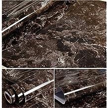 Selbstklebend Kunstleder braun marmor Getreide Kontakt Papier für Küche Tisch Schränke Duett Arbeitsfläche Schubladen Regal Wand Crafts Projekte (24von 297,2cm)