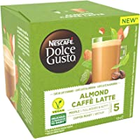 Nescafé Dolce Gusto Café au Lait d'Amande - Café - 72 Capsules (Pack de 6 boîtes x 12)