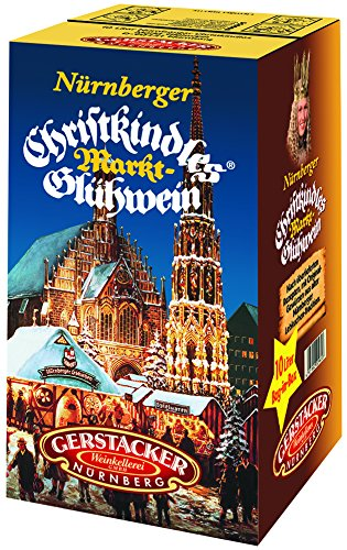 Original Nürnberger Christkindles Markt-Glühwein (1 x 10 l Bag-in-Box)