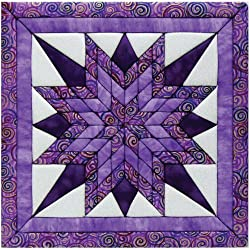 Quilt Magic 12 X 12-inch Starburst Kit