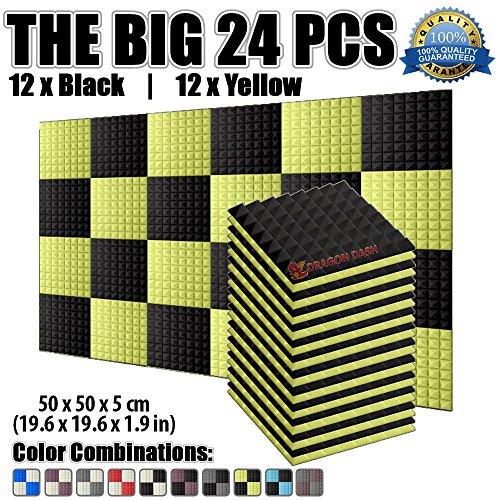 super-dash-24-unidades-de-50-x-50-x-5cm-insonorizacion-piramide-espuma-absorcion-aislamiento-acustic