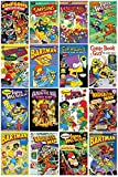 GB Eye The Simpsons Comic Covers Maxi Poster, mehrfarbig