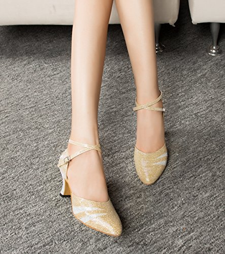 Miyoopark - Ballroom donna Gold-7cm Heel