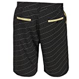 "New Orleans Saints NFL ""Dots"" Men's Casual Polyester Walking Shorts - 2"