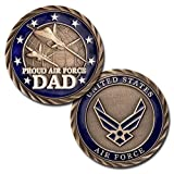 Best Dad Coins - Proud Air Force Dad Challenge Coin Review