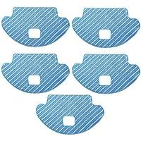 TeKeHom Juego de 5 accesorios para cortar en seco y húmedo para Ecovacs Deebot OZMO 610 (reemplazo #D-CC3B)