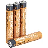 AmazonBasics AAAA Everyday Alkaline Batteries (4-Pack) - Appearance May Vary