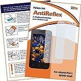 2x mumbi Displayschutzfolie für Alcatel Pixi 4 4034D (4 Zoll) Schutzfolie AntiReflex matt