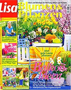 lisa blumen pflanzen zeitschriften. Black Bedroom Furniture Sets. Home Design Ideas