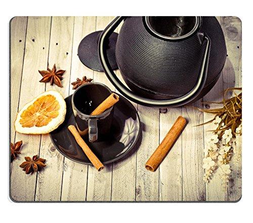 Liili mouse pad mouse in gomma naturale asiatico set da tè verde anice arancione cannella Image ID 23350872