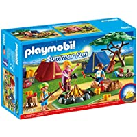 Playmobil 6888 Summer Fun Camp Site with LED Fire - ukpricecomparsion.eu
