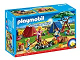Playmobil - 6888 - Camp with LED campfire...