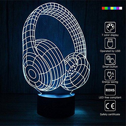 tlicht 7wechselbaren Farben Optische Illusion Lampe Touch Sensor perfekt für Home Party Festival Decor tolle Geschenkidee (Spring Party Dekorationen)