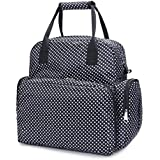 New Large Capacity Designer Baby Bags For Mummy Diaper Bag Backpack Baby Stroller Carriage Pram Accessories Nappy Bags (Black)