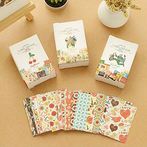 bestim-incuk-52-piece-decorative-scrapbooking-craft-sticker-diary-album-sticker-adhesiverandom-style