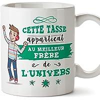 Mugffins Frère Mug/Tasse Frère de l'univers - Tasse Originale/Cadeau Anniversaire. Céramique 350 ML