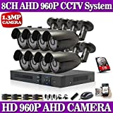 ARBUYSHOP DAVHUA HOT, Caméra 8CH AHD HD CCTV système 1.3MP CCTV DVR Kit 960P 1080P HDMI Système de sécurité de l'appareil d'affichage à distance seguranca em casa
