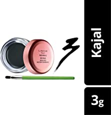 Lakme 9 to 5 Naturale Gel Kajal, Black, 3g