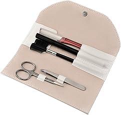 FRCOLOR Eyebrow Grooming Set 5 in 1 Eyebrow Tweezers Set for Men and Women