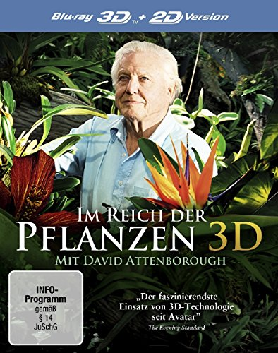 Im Reich der Pflanzen 3D – mit David Attenborough  (inkl. 2D-Version) [3D Blu-ray]