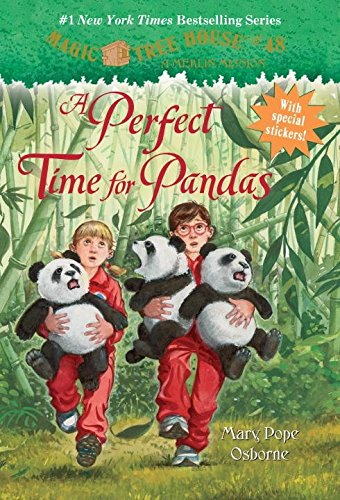 Magic Tree House #48 A Perfect Time For Pandas (Magic Tree House: A Merlin Mission)