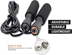 Shiv Shakti I-Skipping-Rope Jump Skipping Rope for Men, Women, Weight Loss, Kids, Girls, Children, Adult - Best in Fitness, Sports, Exercise, Workout