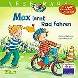 LESEMAUS 20: Max lernt Rad fahren